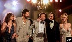 بازیگران فیلم «کلاهبرداری امریکایی» در مراسم اسکار