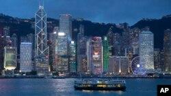 Pogled na Centralni distrikt Hong Konga u luci Viktorija (Foto: AP/Kin Cheung)