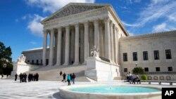 Gedung Mahkamah Agung Amerika (foto: dok).