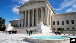 位于首都华盛顿的美国最高法院