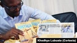"""Capa do livro """"O Poder da Justiça"""" e seu autor Professor Rafael Lando Lau"""