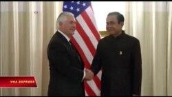 Tillerson thăm Thái Lan, thảo luận về thương mại, an ninh