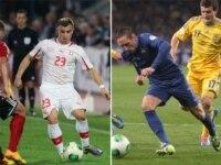 Switzerland versus France.