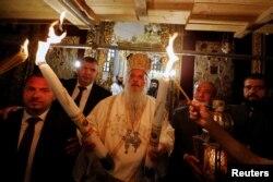 Сходження Благодатного вогню у Віфлеємі