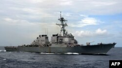 عکس آرشیوی از یک ناوشکن متعلق به نیروی دریایی ارتش ایالات متحده