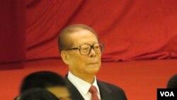 前中国国家主席江泽民 (资料照片,美国之音东方拍摄)
