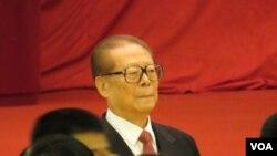 中共前最高领导人江泽民(资料照片,美国之音东方拍摄)