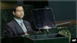 Ahmed Shaheed (file photo)