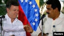 """Venezuela asegura que el anuncio del gobierno colombiano """"quebranta"""" la palabra de Santos de no concretar alianza militar con la OTAN."""