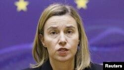 فدریکا موگرینی،مسئول سیاست خارجی اتحادیه اروپا