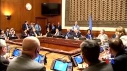 2016-01-31 美國之音視頻新聞: 敘利亞反對派抵達日內瓦參加和談