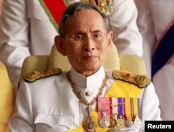 泰国国王普密蓬(又称拉玛九世)