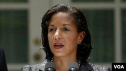 美國總統奧巴馬的國家安全顧問蘇珊賴斯 (資料圖片)