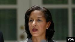 奥巴马总统的国家安全顾问苏珊•赖斯(资料照)