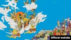 نوروز در شاهنامه اولین بار با داستان جمشیدشاه بیان شده است. (کلاژ مینیاتوری ساخت حمید رحمانیان)