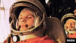 ဆုိဗီယက္အာကာသယာဥ္မႉး Yuri Gagarin