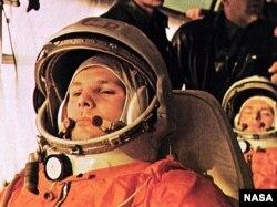 FILE - Soviet cosmonaut Yuri Gagarin