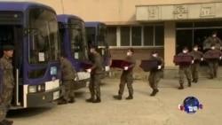 朝鲜战争阵亡的中国军人遗体被运回国