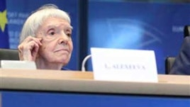 Russian human rights activist Ludmila Alexeeva (Nov. 2011 photo)