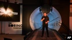 """Elon Musk explicó por primera vez en detalle cómo el sistema, al que él se refiere como el """"circuito"""", trabajaría en gran escala debajo de las ciudades en todo el planeta."""