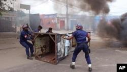 Une manifestation à Kinshasa