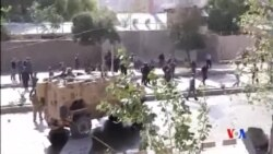 2015-10-11 美國之音視頻新聞: 北約一輛軍車喀布爾遇襲