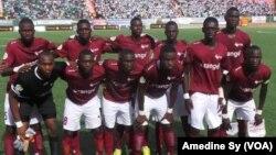 Génération Foot, champion du Sénégal 2017. (VOA/Amedine SY)
