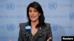 La embajadora de EE.UU. ante la ONU, Nikki Haley, criticó amenaza del presidente venezolano, Nicolás Maduro, de enjuiciar a obispos católicos.
