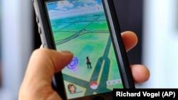 Pokemon Go, aplikasi mobile game Nintendo yang berbasis augmented reality. (Foto: dok.)