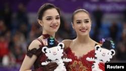 平昌冬奥会上美中俄等国花样滑冰选手(36图)