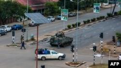 En images : la crise politique au Zimbabwe