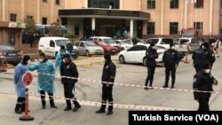Gaziantep Sani Konukoğlu Hastanesi'nin COVID-19 yoğun bakım ünitesinde oksijen tüpü patladı