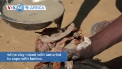 VOA60 Afrikaa - In Madagascar people are reportedly eating white clay mixed with tamarind to cope with famine