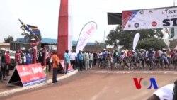 """Ihiganwa """"Pedal for Peace"""" ryatangujwe Icese i Ngozi mu Burundi"""