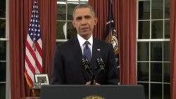 """Le président Obama promet de """"traquer les terroristes"""" où qu'ils se trouvent"""