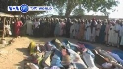 Armed robbers attack village Nigeria's Zamfara State killing twenty people.