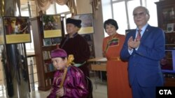 Dalai Lama Photo Exhibition in the Russian Buddhist Republic of Tuva