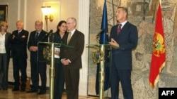 Predsjednik Evropskog savjeta i crnogorski premijer na konferenciji za novinare u Podgorici