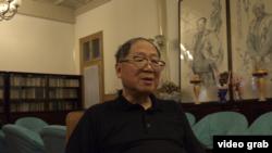 原《炎黃春秋》雜誌社副社長胡德華接受美國之音專訪 (視頻截圖)