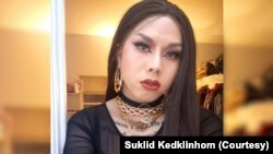"Suklid Kedklinhom performs drag shows in Washington, D.C. under stage name ""Miss LaBella Mafia."""
