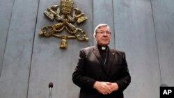 Kardinal George Pell, pejabat tertinggi Gereja Katolik Roma yang dituduh melakukan pelanggaran seksual di Australia.