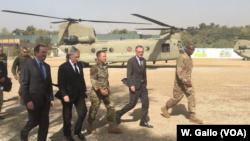 Джим Мэттис. Кабул, Афганистан, 7 сентября 2018