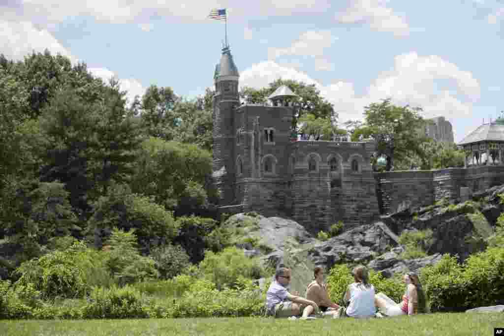 سنترال پارک نیویورک با جاذبه های گردشگری آن