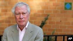 Portrait of former Canadian Ambassador to Iran, Ken Taylor, taken on the Upper East Side of Manhattan, New York, October 5, 2012.