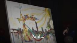 VOA Commemorative Painting