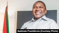 Filipe Nyusi, presidente da Frelimo