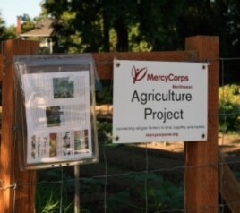 Up until a few years ago, this MercyCorps Northwest farm plot in southeast Portland, Oregon, was a vacant lot.
