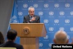 BM sözcüsü Stephane Dujarric