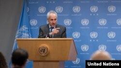 Пресс-секретарь генсека ООН Стефан Дюжаррик (архивное фото)