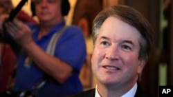 特朗普總統提名擔任美國最高法院大法官的卡瓦諾法官(Brett Kavanaugh)面臨阻撓提名獲得參院確認的努力